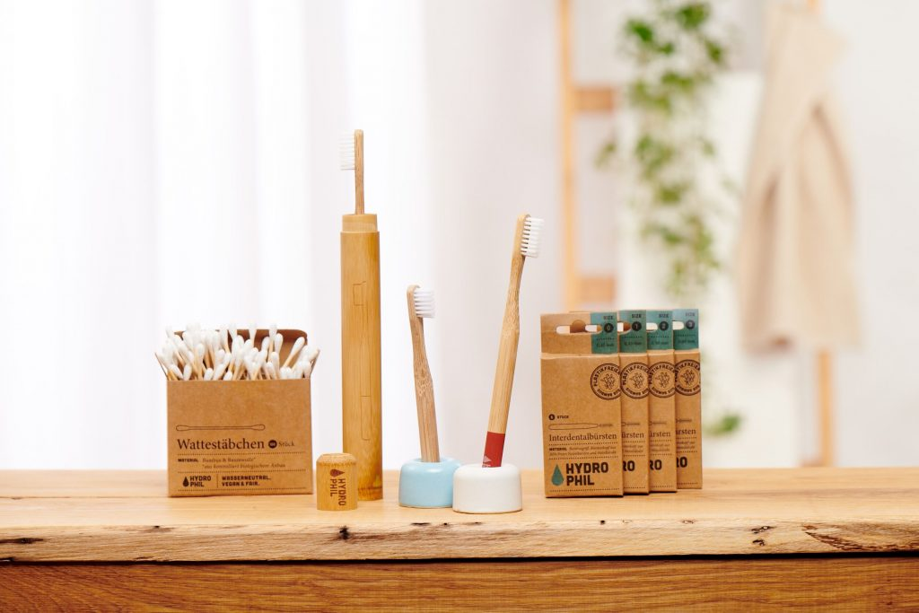 Zahnbürsten und andere Produkte aus Bambus von HYDROPHIL