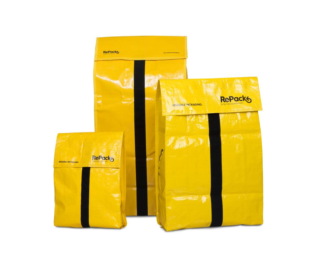 Versandtaschen von RePack